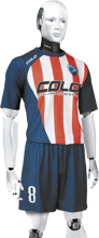 Komplet piłkarski sublimowany Colo Impery P1