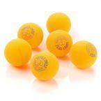Piłeczki do tenisa stołowego Double Circle 6 szt żółte