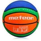 Piłka do koszykówki Meteor Cellular RBW 5 07035
