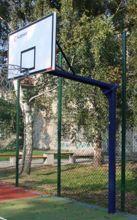 Stojak do koszykówki jednosłupowy