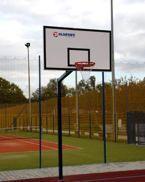 Stojak do koszykówki jednosłupowy malowany