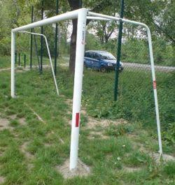 Bramka stalowa stała do piłki nożnej; 5x2m