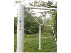 Bramka stalowa stała do piłki nożnej; 7,32x2,44m