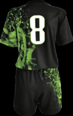 Komplet piłkarski sublimowany Colo 4 Żywioły E3