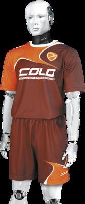 Komplet piłkarski sublimowany Colo Wave