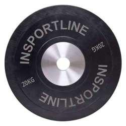 Obciążenie gumowe inSPORTline Bumper Plate 20 kg